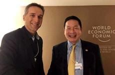 FPT bàn việc hợp tác với các doanh nghiệp tỷ đô tại diễn đàn WEF