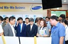 Hơn 200 doanh nghiệp tham gia chuỗi cung ứng toàn cầu của Samsung