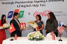 FPT sẽ đưa ra giải pháp số hóa phù hợp cho Coca-Cola Việt Nam