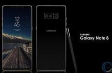 Galaxy Note8 sẽ được bán tại Việt Nam với giá 22,99 triệu đồng