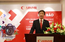 Canon 'khoe' bộ cảm biến 250MP, máy in 3D tới người dùng Việt