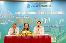 17 sản phẩm công nghệ thông tin vào chung khảo Nhân tài Đất Việt