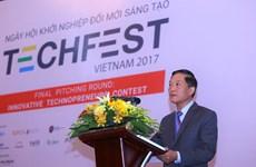 Techfest 2017: Cam kết đầu tư 4,5 triệu USD cho 29 thương vụ