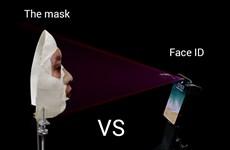 Doanh nghiệp Việt trình diễn mở khóa Face ID iPhone X bằng mặt nạ