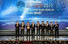 'Mô phỏng thực tại ảo 3D...' giành giải Nhất Nhân tài Đất Việt