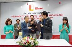 Bkav 'bắt tay' Đại học Bách khoa phát triển công nghệ cho Bphone
