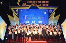 Chương trình Sao Khuê 2018 nhận được 100 đề cử của các đơn vị