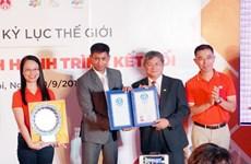 FPT nhận Kỷ lục thế giới cho hành trình 31 ngày chạy xuyên Việt