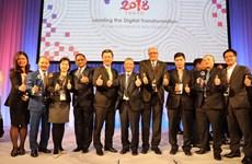 Bốn tổ chức của Việt Nam được vinh danh tại giải thưởng ASOCIO