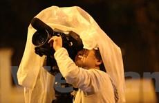 [Photo] Trắng đêm trong mưa rét đợi Chủ tịch Triều Tiên Kim Jong-un