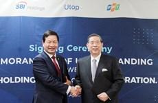 Start-up Utop nhận đầu tư 3 triệu USD từ SBI Holdings và FPT