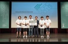 Đoàn Việt Nam lập 'kỳ tích' tại cuộc thi Lập trình Quốc tế Samsung