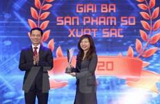 VNPT được vinh danh tại giải thưởng 'Sản phẩm công nghệ số'