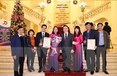VietnamPlus được xướng tên tại Giải báo chí '75 năm Quốc hội Việt Nam'