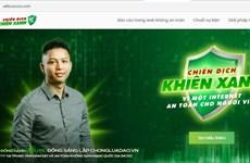 Chiến dịch Khiên Xanh: Tạo môi trường internet an toàn cho người Việt