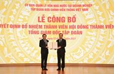Ông Huỳnh Quang Liêm chính thức giữ chức Tổng giám đốc VNPT