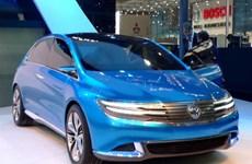Daimler giới thiệu mẫu xe điện Denza EV ở Trung Quốc