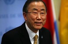 Tổng thư ký Liên hợp quốc Ban Ki-moon thăm Mexico