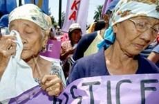 """Nhật-Hàn chưa thu hẹp bất đồng về vấn đề """"nô lệ tình dục"""""""