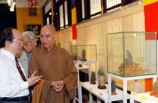 """Triển lãm """"Thạch thiền"""" mừng Đại lễ Phật đản tại TP.HCM"""