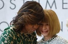 Bà Obama dự lễ vinh danh huyền thoại thời trang Wintour