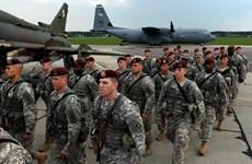 Hàng trăm binh sỹ Mỹ sẽ tham gia tập trận trên khắp châu Âu
