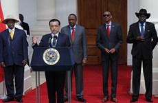 Trung Quốc thầu xây dựng tuyến đường sắt lớn ở châu Phi
