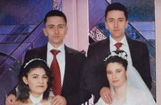 Anh em sinh đôi cưới cùng ngày và nắm tay nhau khi chết