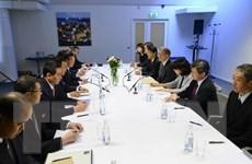 Nhật Bản và Triều Tiên bắt đầu đàm phán tại Thụy Điển