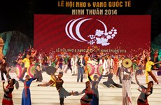 11 quốc gia dự Lễ hội Nho và Vang Quốc tế - Ninh Thuận 2014