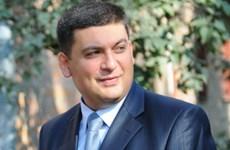Ukraine bổ nhiệm ông Vladimir Groisma làm quyền Thủ tướng