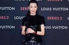 Sao Hoa ngữ tỏa sáng tại buổi tiệc của Louis Vuitton ở Bắc Kinh