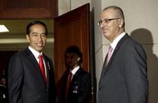 Indonesia cam kết hỗ trợ Palestine trở thành nhà nước độc lập