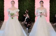 Năm xu hướng váy cưới cách tân lên ngôi mùa Xuân Hè 2015