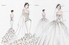 Tự thiết kế váy cưới cho ngày trọng đại của mình, tại sao không?