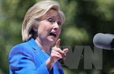 Thăm dò: 57% cử tri Mỹ ủng hộ bà Hillary Clinton làm Tổng thống