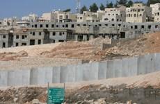 Israel cấp phép xây dựng hơn 900 căn hộ mới tại Bờ Tây