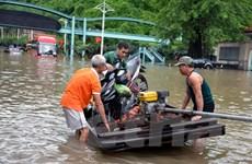 Mưa lớn khiến Quảng Ninh chìm trong nước, giao thông tê liệt