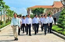 Khu lưu niệm Luật sư Nguyễn Hữu Thọ đón bằng di tích quốc gia