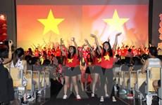 Sôi nổi Hội trại thanh niên, sinh viên Việt Nam tại châu Âu