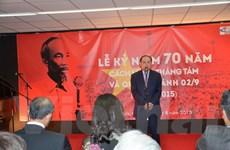 Kỷ niệm 70 năm Cách mạng tháng Tám và Quốc khánh 2/9 tại Pháp