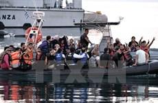 Italy giải cứu hơn 1.150 người di cư trôi dạt ngoài khơi Libya