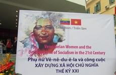 Lần đầu tiên tổ chức triển lãm về phụ nữ Venezuela tại Việt Nam