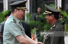Campuchia-Trung Quốc tăng cường hợp tác quốc phòng