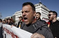 Hy Lạp: Tổng bãi công phản đối chính sách thắt lưng buộc bụng