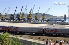 Hai miền Triều Tiên tiếp tục vận hành thử dự án vận tải chung