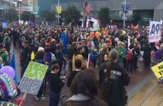 Mỹ: Hàng trăm nhà hoạt động tham gia tuần hành phản đối TPP