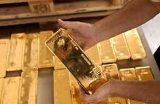 Giá vàng nhích lên từ mức thấp nhất trong gần sáu năm