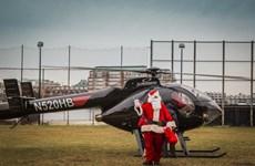 Brazil: Đóng giả ông già Noel để cướp máy bay trực thăng