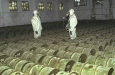 Mỹ phát triển phương tiện tiêu hủy vũ khí hóa học tại chỗ